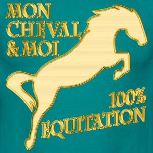mon cheval & moi Tee shirts - T-shirt Homme