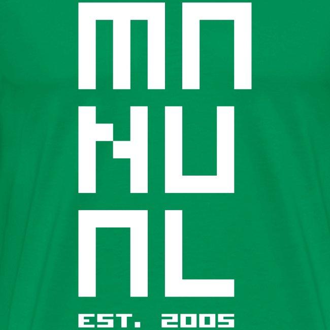 Manual 'Est. 2005' Green/White