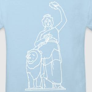 Bavaria statue in Munich Shirts - Kids' Organic T-shirt