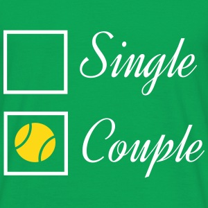 Tennis couple Tee shirts - T-shirt Homme
