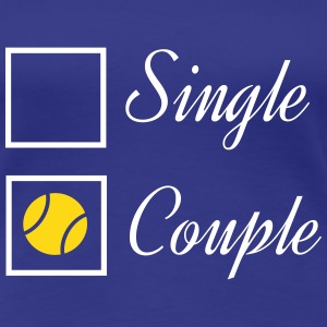 Tennis couple T-Shirts - Women's Premium T-Shirt