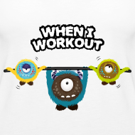 When I workout Monster Tops