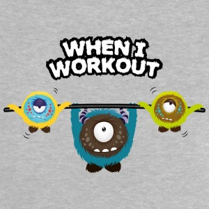 When I workout Monster Shirts - Baby T-shirt