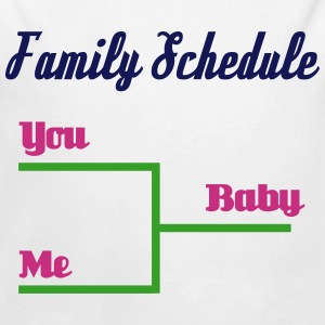 Family Schedule Baby Bodys - Baby Bio-Langarm-Body