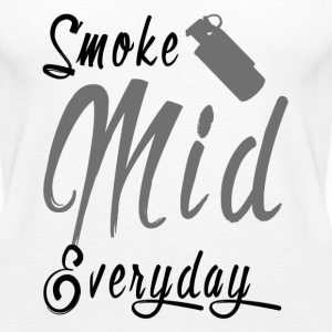 Smoke Mid Everyday - Women's Premium Tank Top