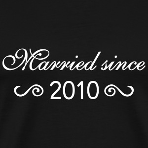 Married since 2010 T-Shirts - Männer Premium T-Shirt