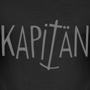 Kapitän  Captain - Männer Slim Fit T-Shirt