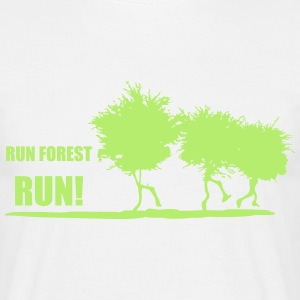 RUN FOREST RUN T-Shirts - Männer T-Shirt