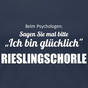 Riesling vs. Psychologe T-Shirts - Frauen Premium T-Shirt
