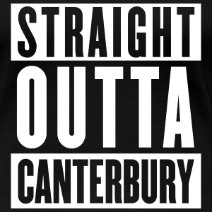 Straight Outta Canterbury - New Zealand Rugby - Wo - Women's Premium T-Shirt