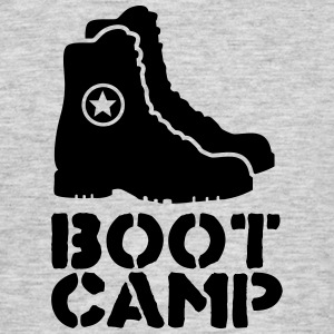 boot camp T-shirts - Mannen T-shirt