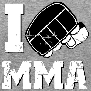 I LOVE MMA T-Shirts - Men's Premium T-Shirt