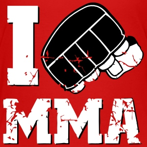 I LOVE MMA Skjorter - Premium T-skjorte for barn
