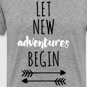 New Adventures T-Shirts - Men's Premium T-Shirt
