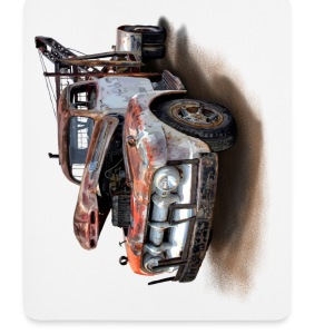rusty car Other - Mouse Pad (vertical)