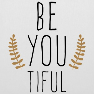 Be You Tiful  Bags & Backpacks - Tote Bag