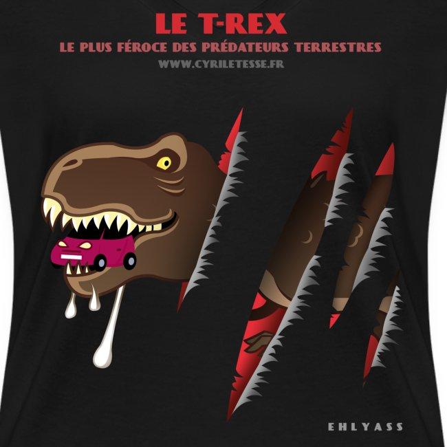 Tshirt Femme T-rex 1