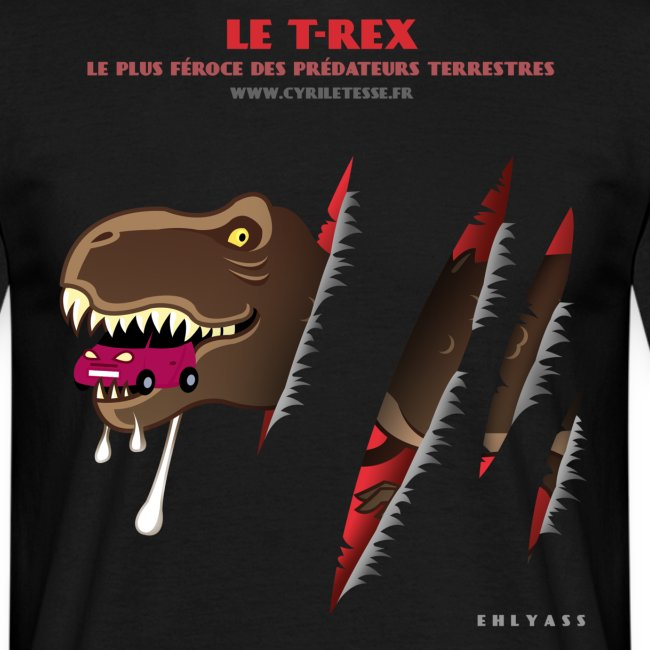 Tshirt Homme T-rex 1