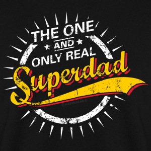 The one and only real Superdad RAHMENLOS® Pullover & Hoodies - Männer Pullover