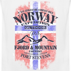 Norway Mountains - Vintage Flag Sports wear - Men's Premium Tank Top