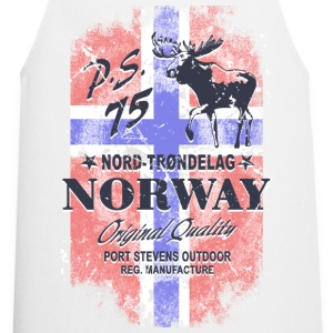 Norway Moose - Vintage Flag  Aprons - Cooking Apron