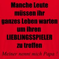 Motiv ~ Stolzer Fußball Papa