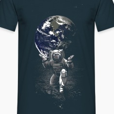 Navy Spaceman T-Shirts