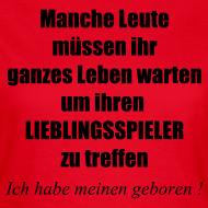 Motiv ~ Stolze Fußball Mama II