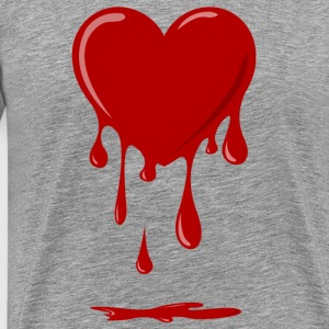 Bleeding Heart T-skjorter - Premium T-skjorte for menn