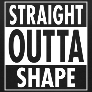 Straight Outta Shape T-Shirts - Women's V-Neck T-Shirt