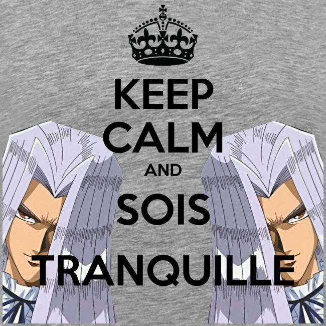 KEEP CALM AND SOIS TRANQUILLE   HD