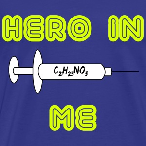 Hero in me T-shirts - Mannen Premium T-shirt