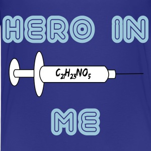 Hero in me Shirts - Kinderen Premium T-shirt