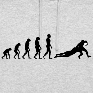 Evolution Rugby Tackle - Hoodie - Unisex Hoodie