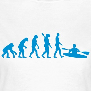 Evolution Kajak T-Shirts - Frauen T-Shirt