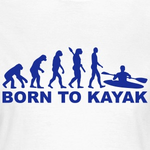Evolution Kayak T-Shirts - Frauen T-Shirt