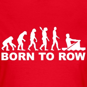 Evolution Rudern T-Shirts - Frauen T-Shirt
