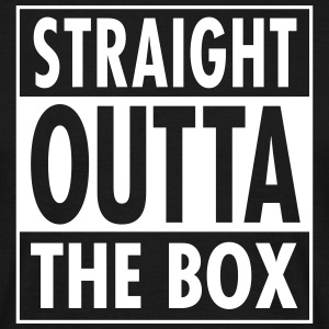 Straight Outta The Box T-shirts - Mannen T-shirt