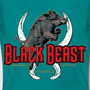 black beast boar T-Shirts - Women's T-Shirt