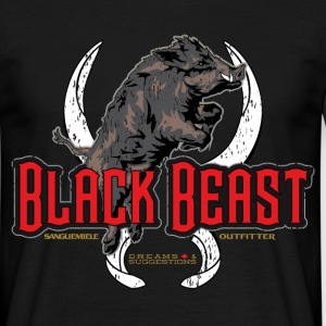 black beast boar T-Shirts - Men's T-Shirt