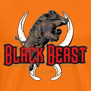 black beast boar T-Shirts - Men's Premium T-Shirt