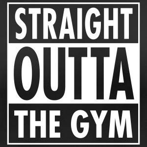 Straight Outta The Gym Camisetas - Camiseta mujer transpirable