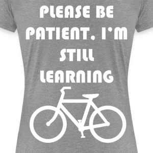 Learner cyclist T-Shirts - Women's Premium T-Shirt