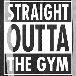 Straight Outta The Gym Tröjor - Premium luvjacka dam