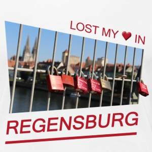 In Love With Regensburg - Frauen Premium T-Shirt