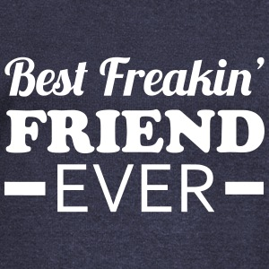 Best Friend Hoodies & Sweatshirts - Women's Boat Neck Long Sleeve Top