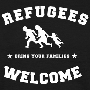 refugees welcome T-Shirts - Männer T-Shirt