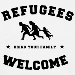 refugees welcome T-Shirts - Men's T-Shirt