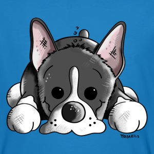 Bonny Boston Terrier T-shirts - Organic mænd