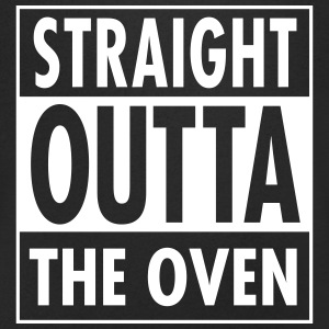Straight Outta The Oven Tee shirts - T-shirt Homme col V